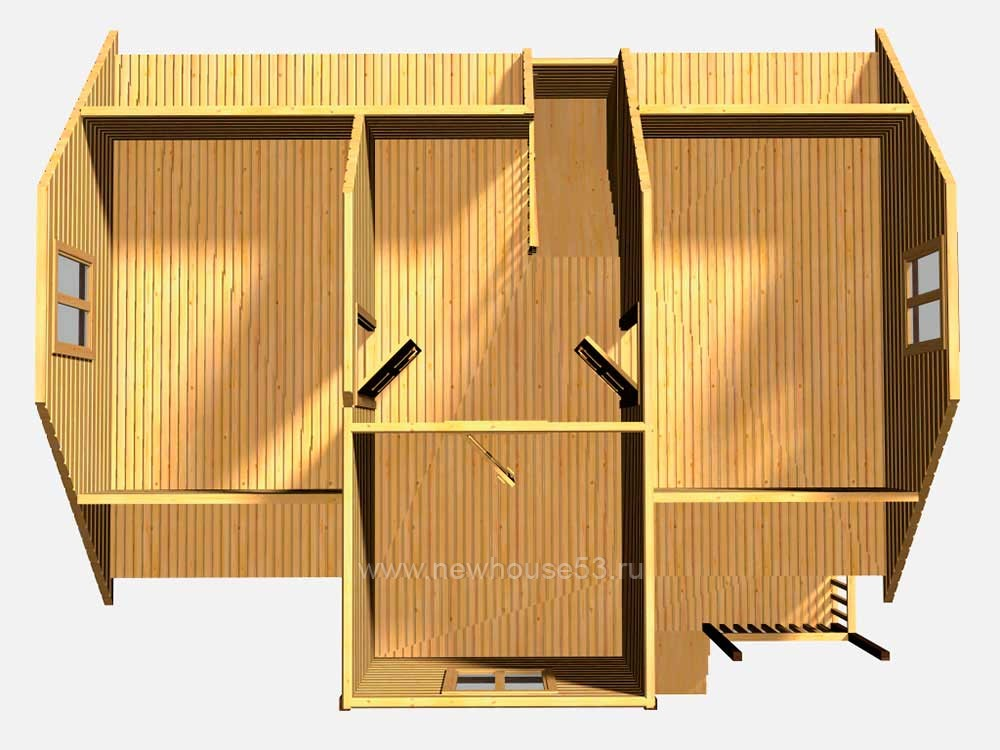 Построить дом из профилированного бруса