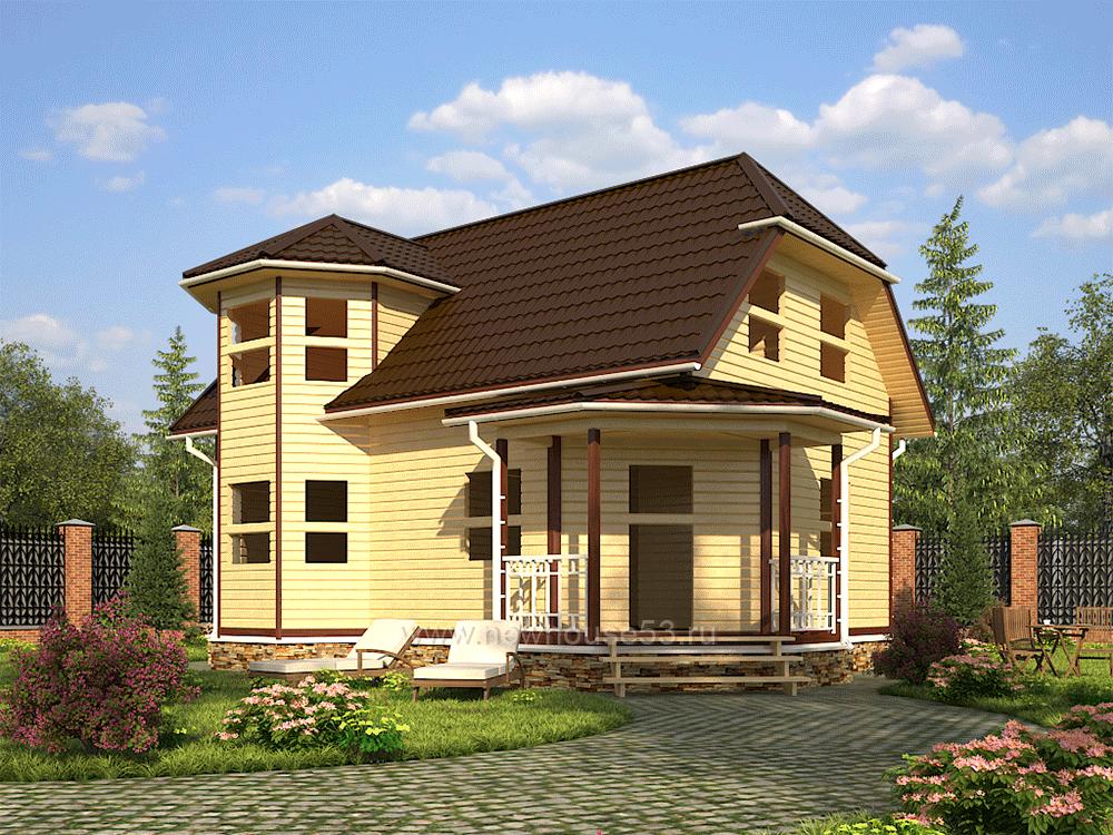 Купить дом из бруса под ключ