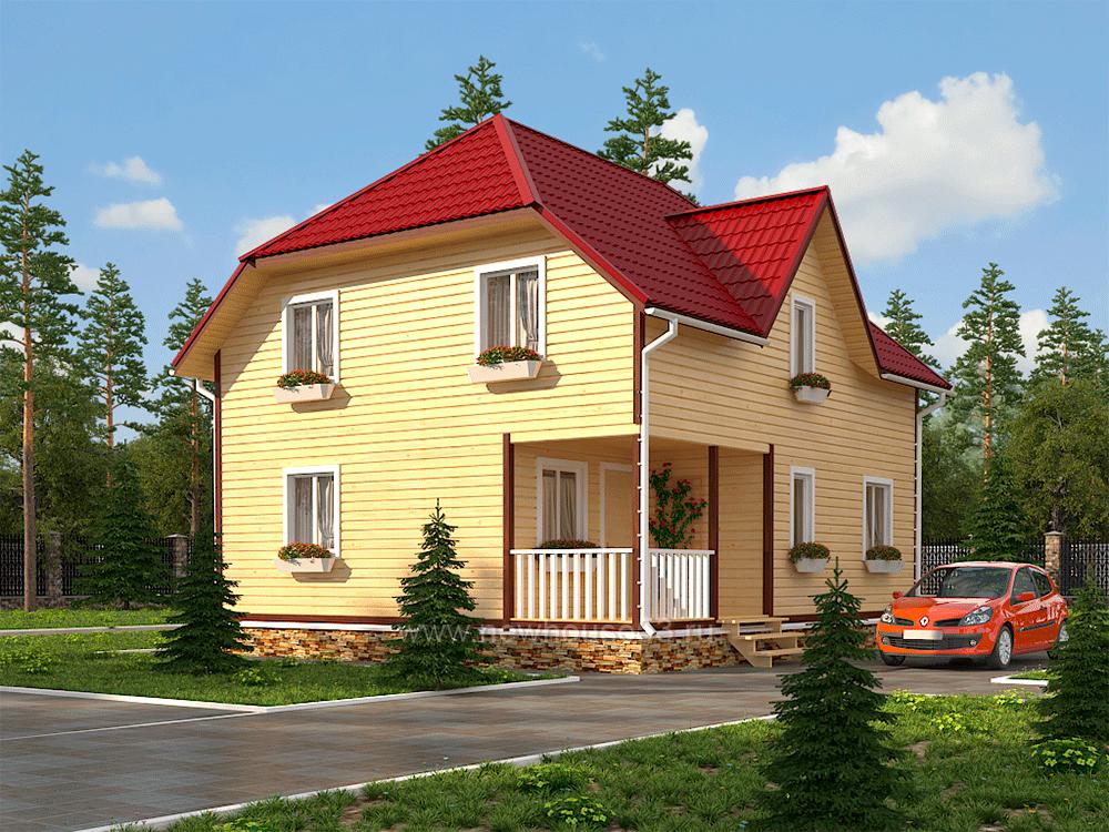 Зимние дома из бруса под ключ цена