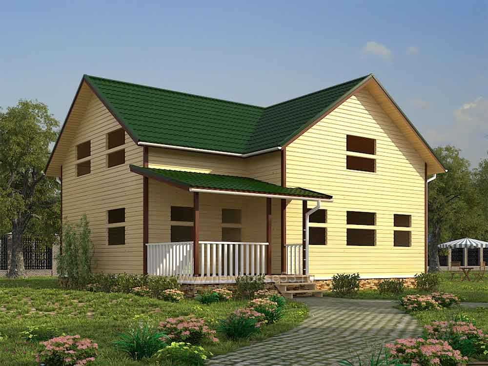 Строительство домов из профилированного бруса
