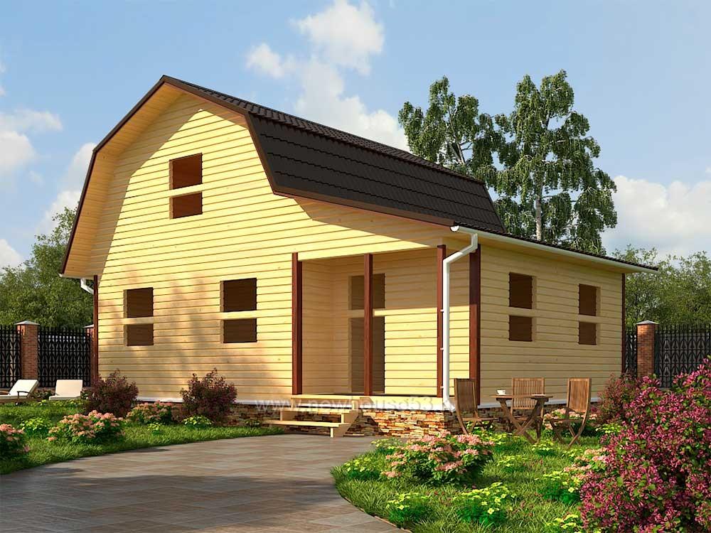 Деревянные дома из бруса цены