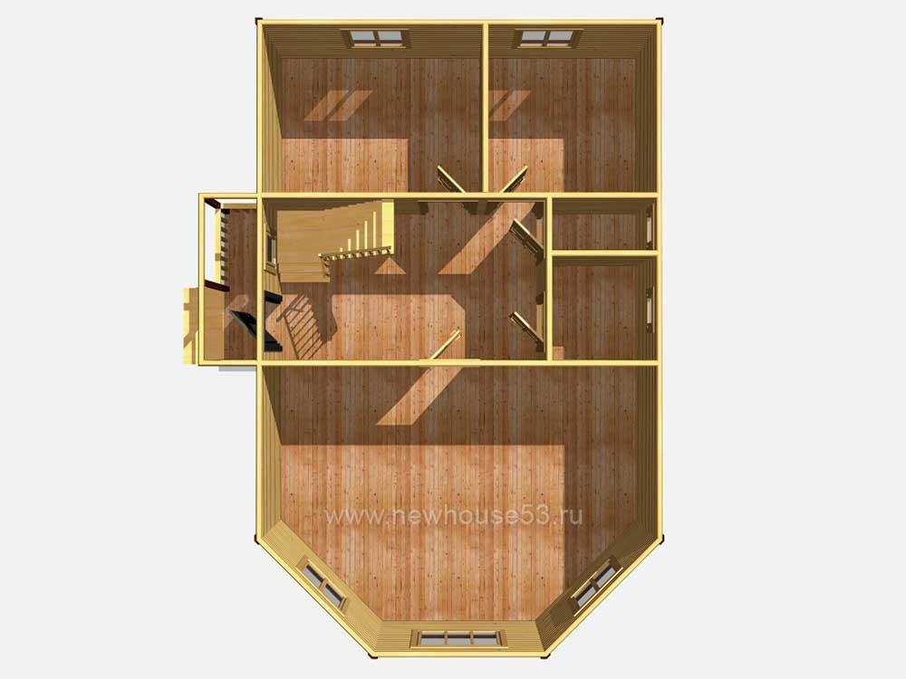 Деревянный дом из бруса проекты и цены
