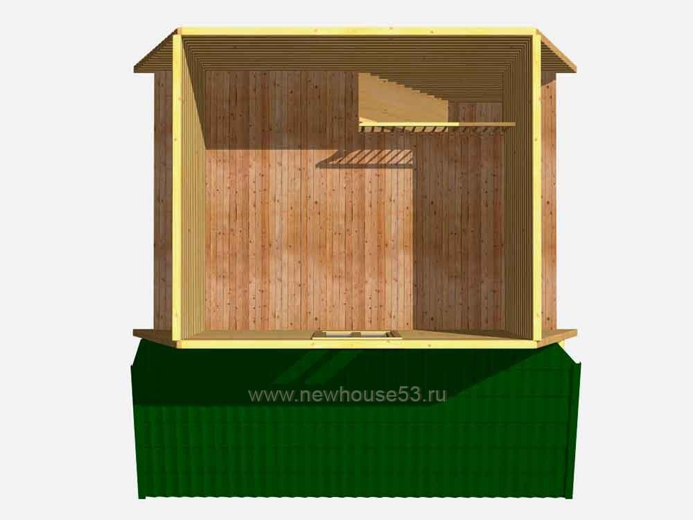 Дачный дом из бруса