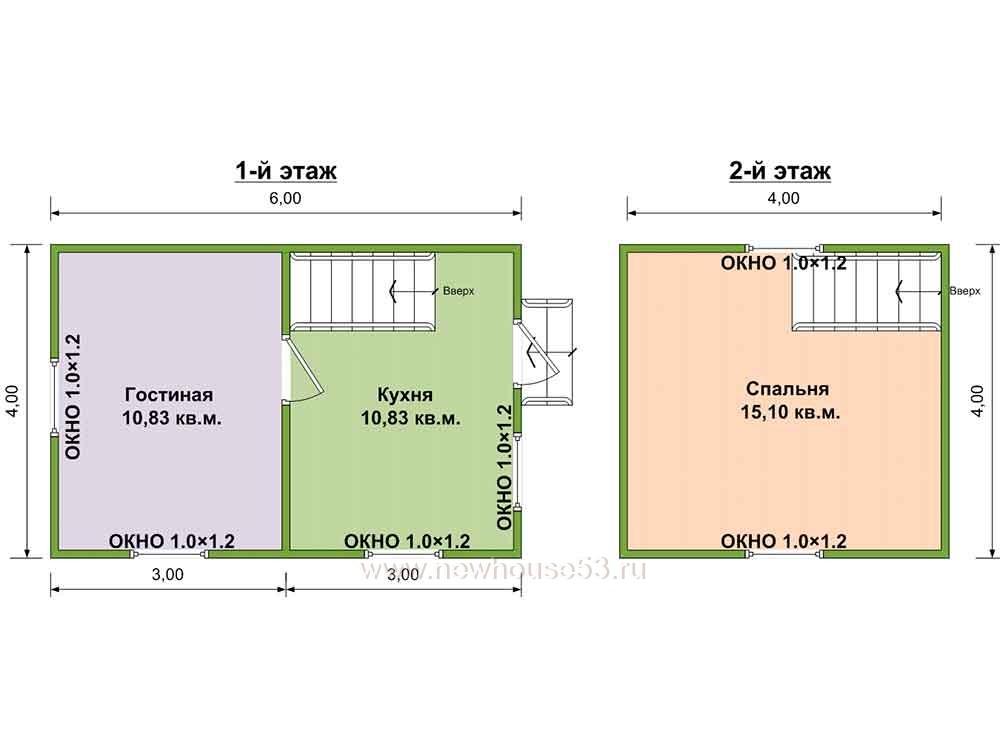 Купить каркасный дачный дом