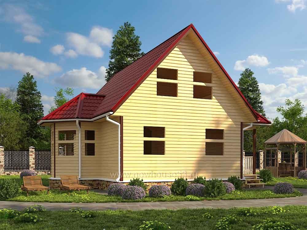 Купить недорогой каркасный дом