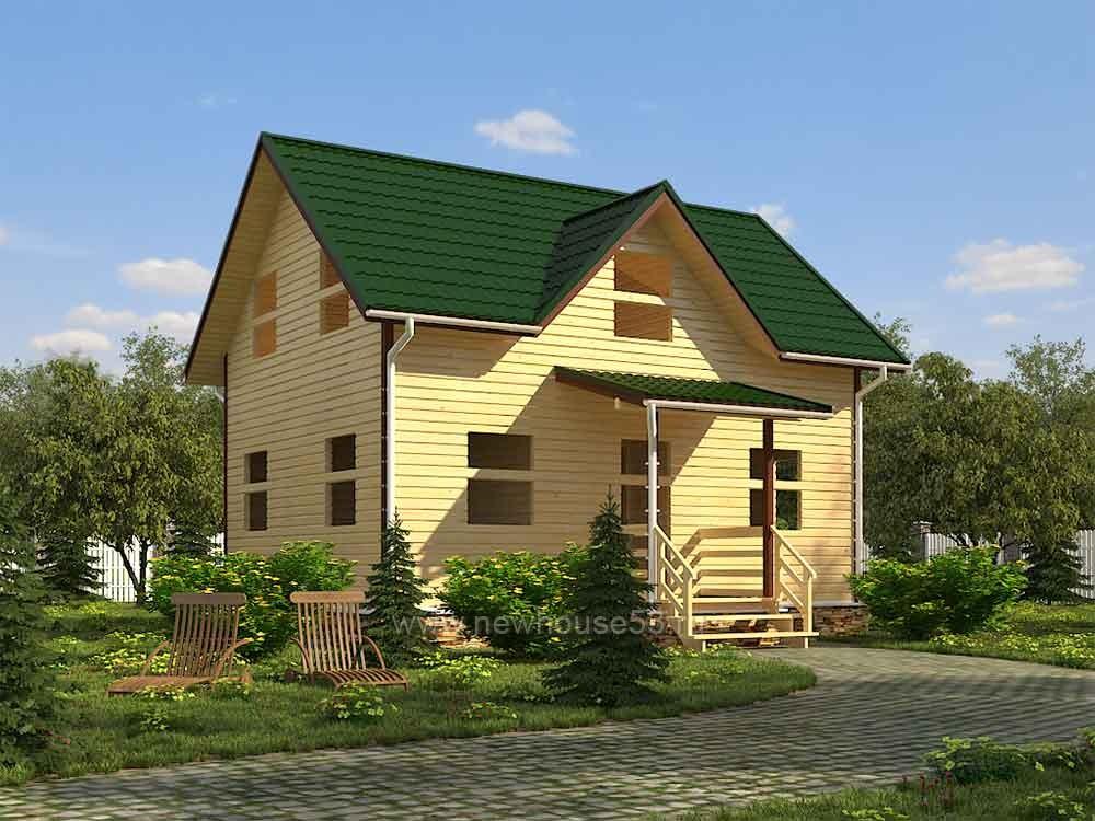 Каркасный дом под ключ для проживания цена