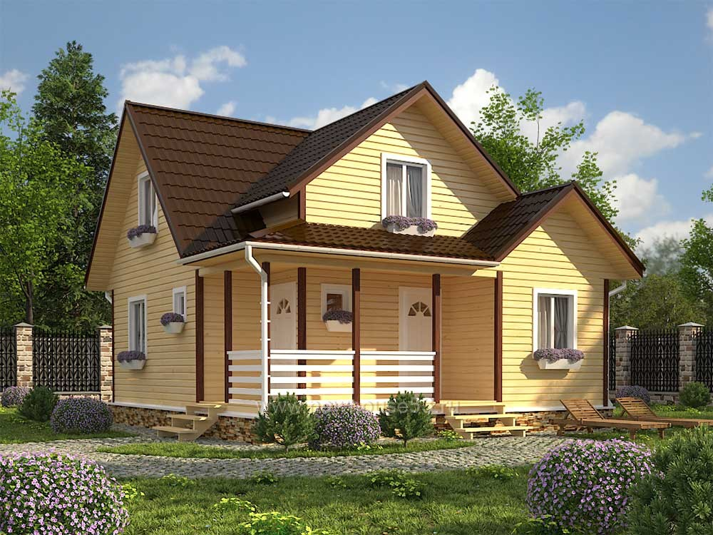 Купить каркасный дом под ключ цена