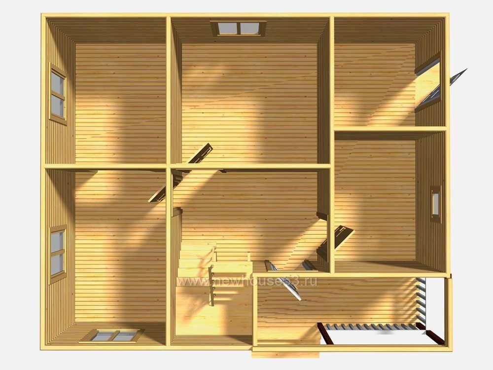 Готовые проекты каркасных домов