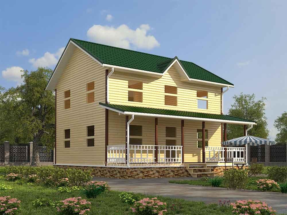 Каркасный дом купить цена