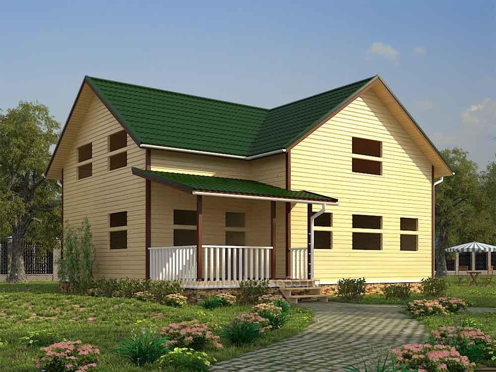 Купить готовый каркасный дом