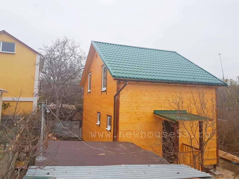 Построили каркасный дом в Севастополе