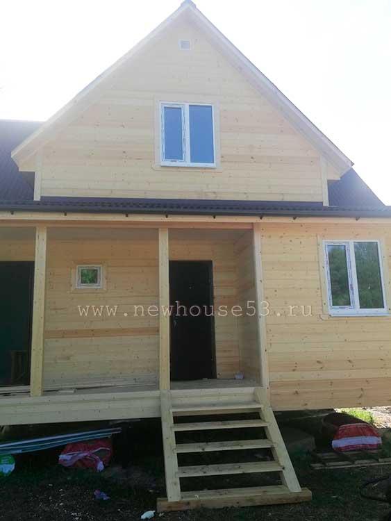 Строительство каркасного дома в Московской области