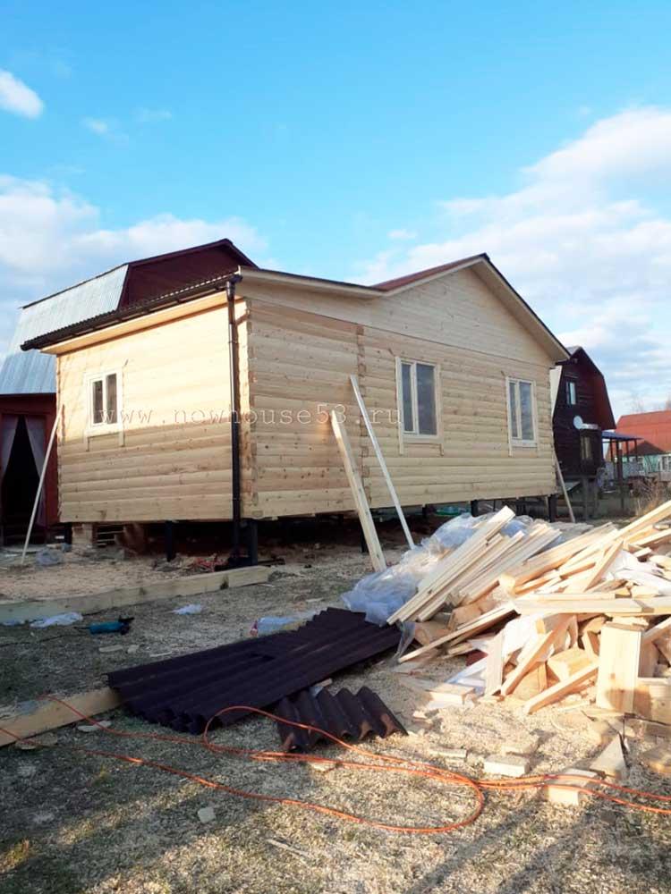 Дом из бруса 6x6 в Московской области