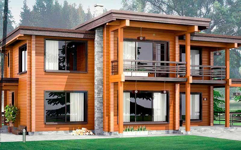 Строительство деревянных домов из профилированного бруса в России. Тренды 2020