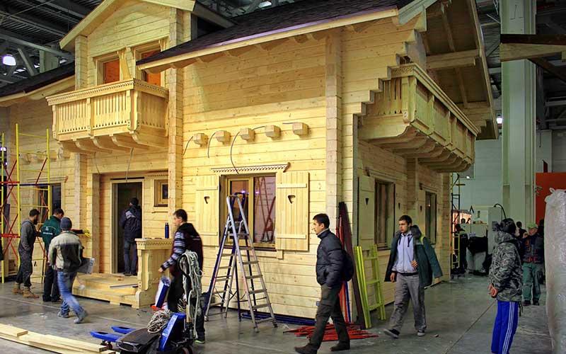 Строительство домов из профилированного бруса 2020