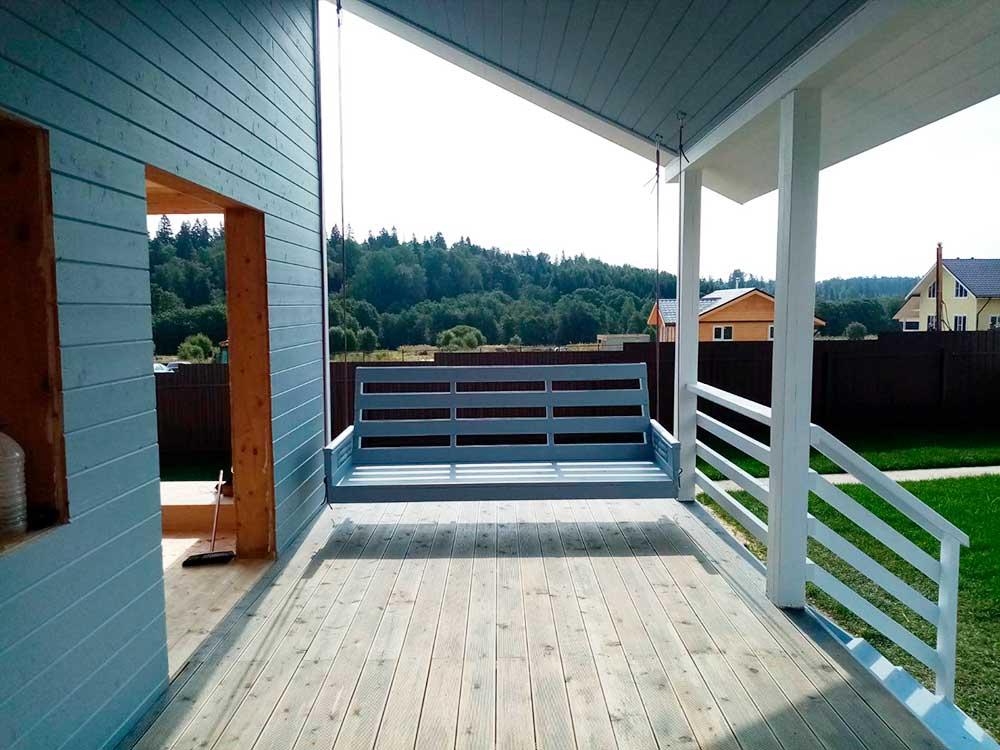 проекты деревянных каркасных домов