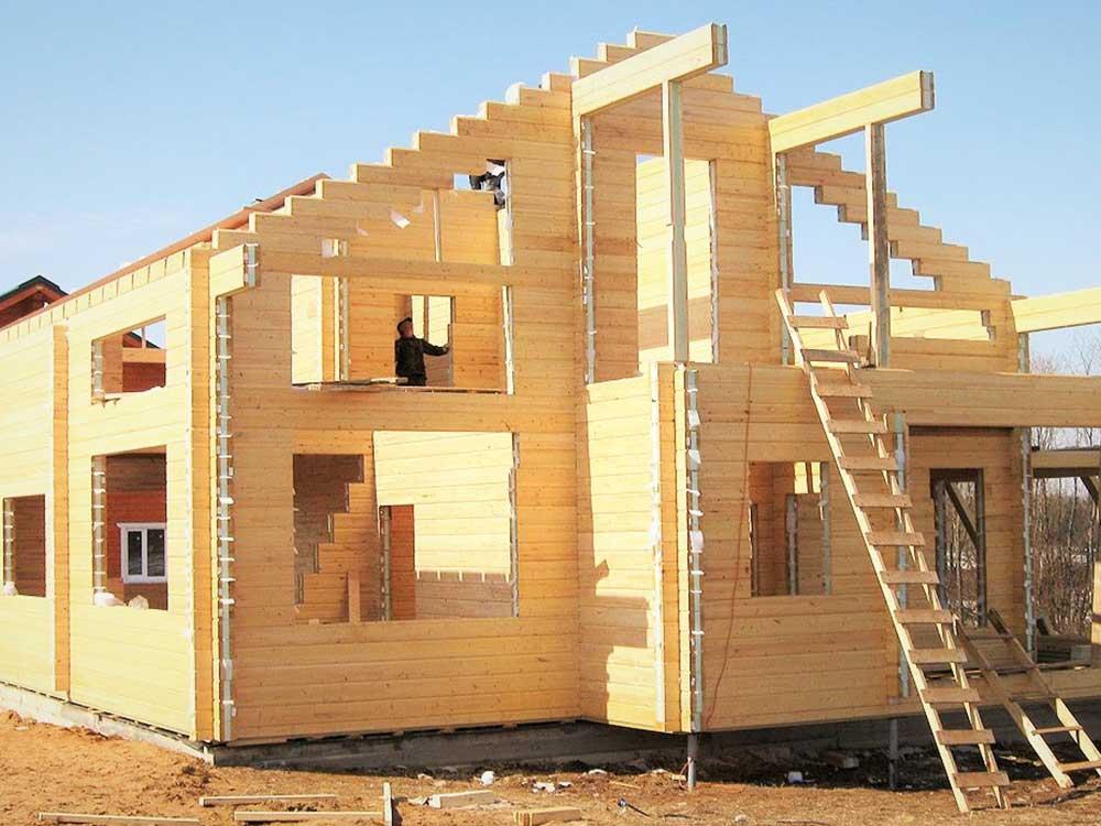 дом брус строительство