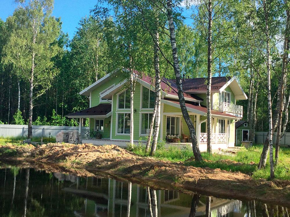 Дома из бруса Комарова