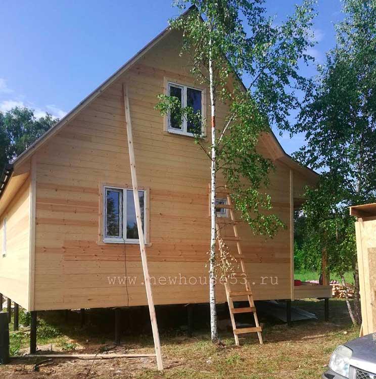 Дачный сезон в Подмосковье – строительство домов для отдыха