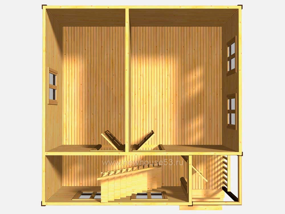 Дом из бруса под ключ недорого и качественно