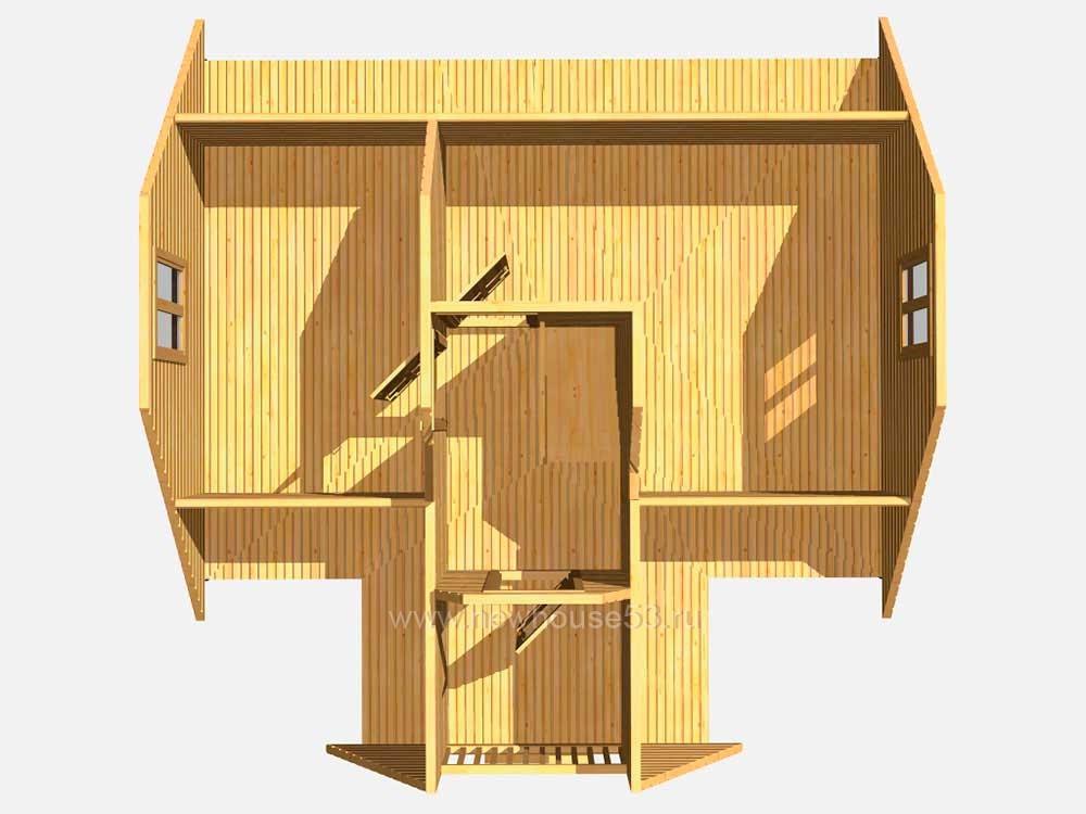 Купить дом из бруса в Белоруссии