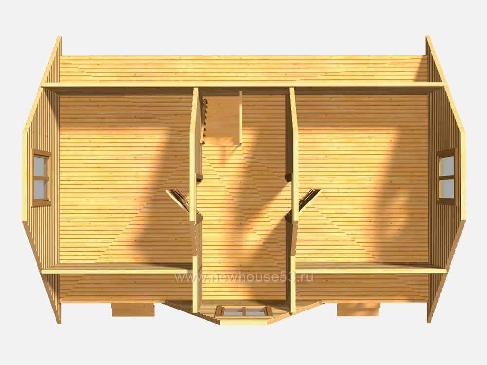 Дома из клееного бруса под ключ фото