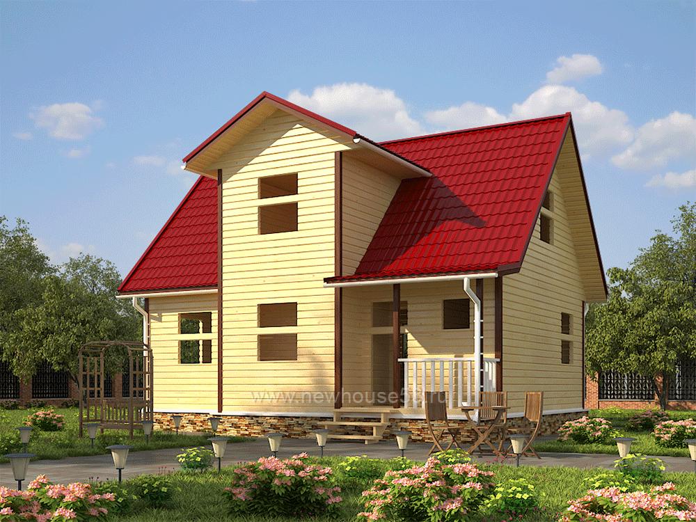 Построить дом из бруса под ключ