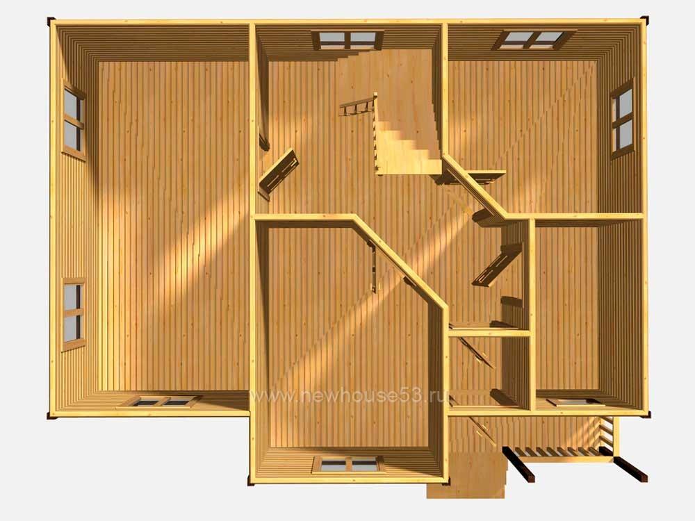 Построить дом из бруса недорого