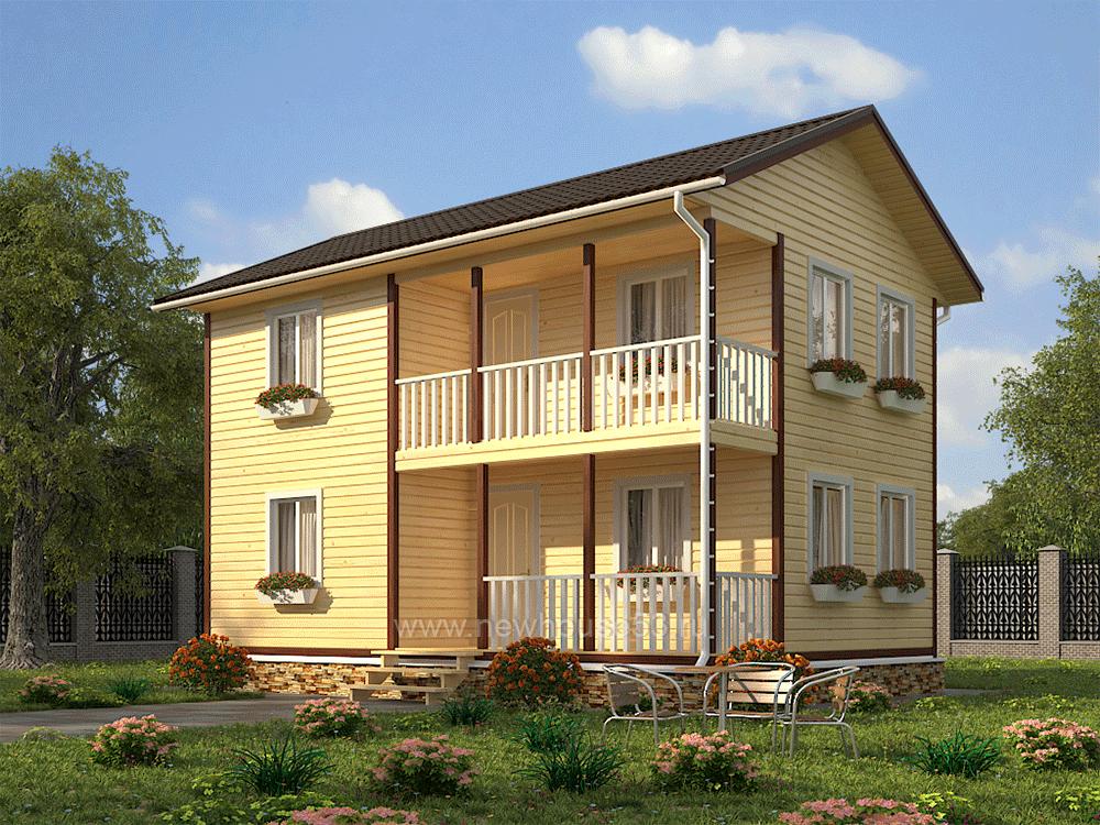 Строительство домов из бруса проекты