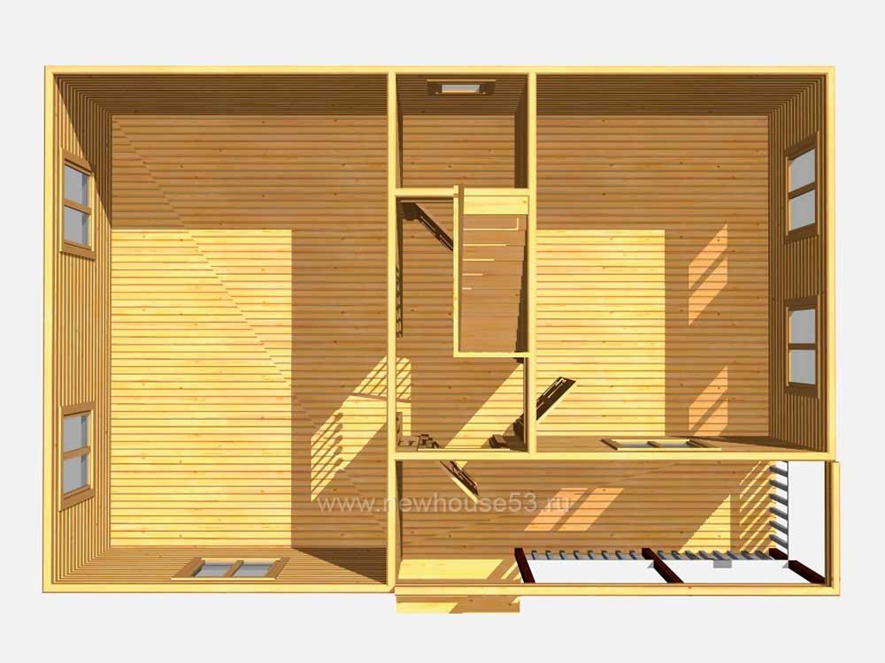 Строительство домов из бруса проекты под ключ