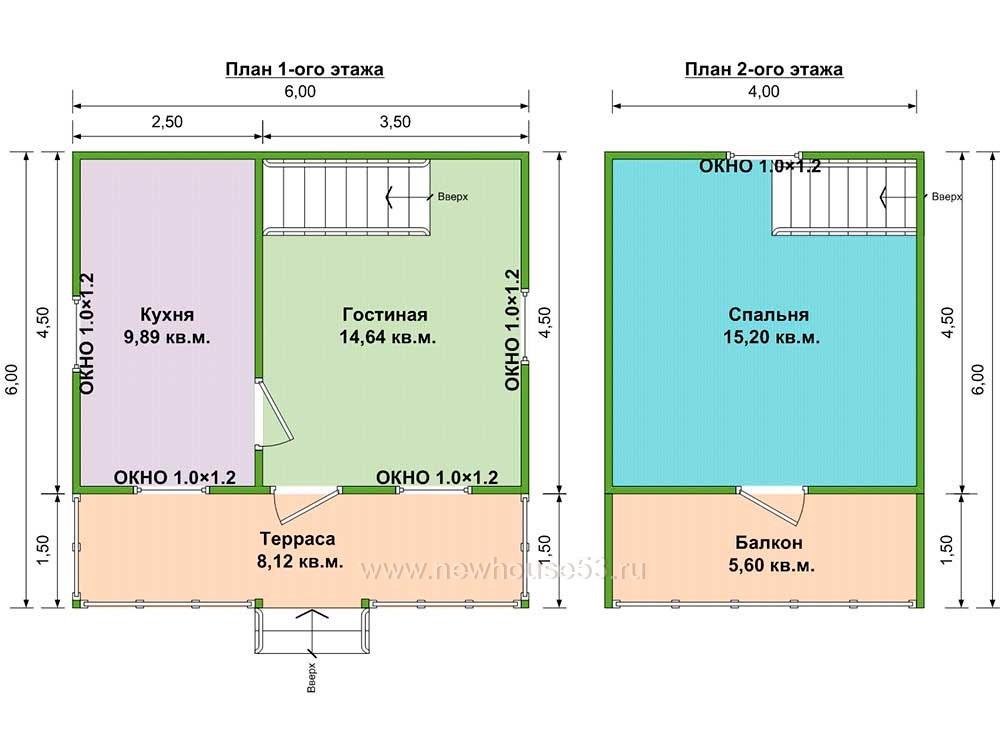 дом из бруса проекты и цены