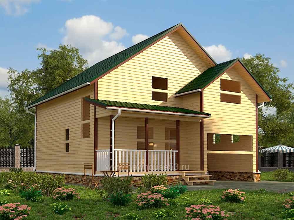 Строим дома из бруса под ключ