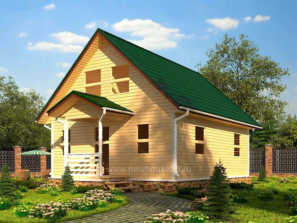 Строительство каркасных домов проекты