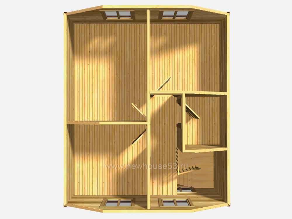 Купить каркасный дом под ключ