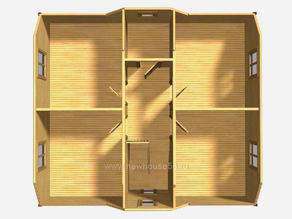 Строительство каркасных домов под ключ проекты