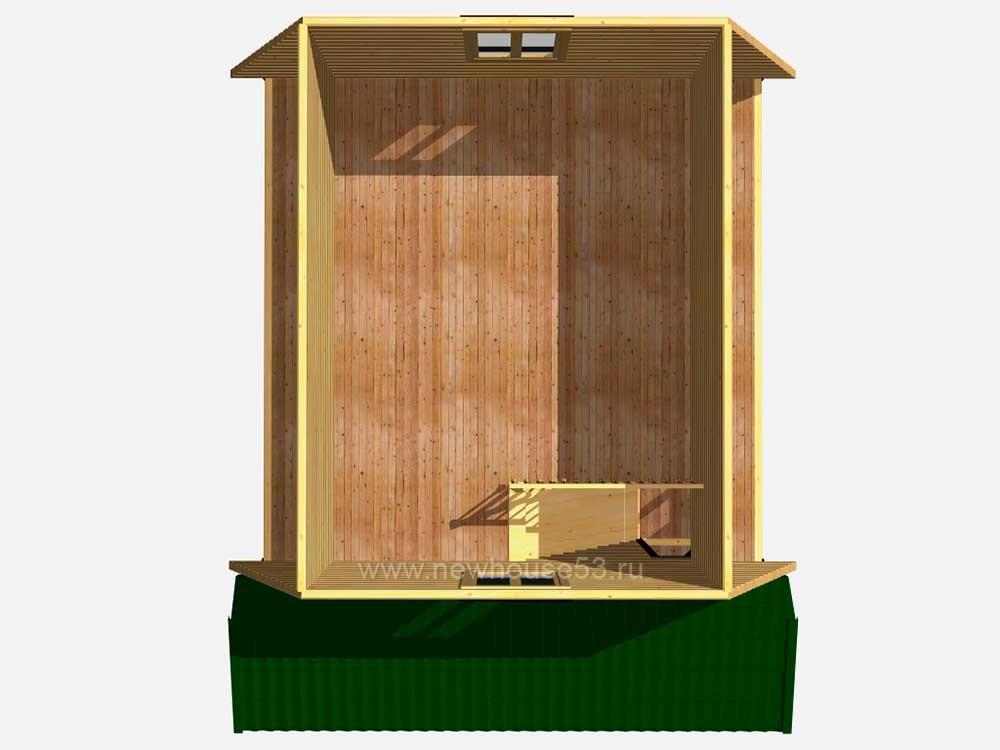 Готовые каркасные дома под ключ