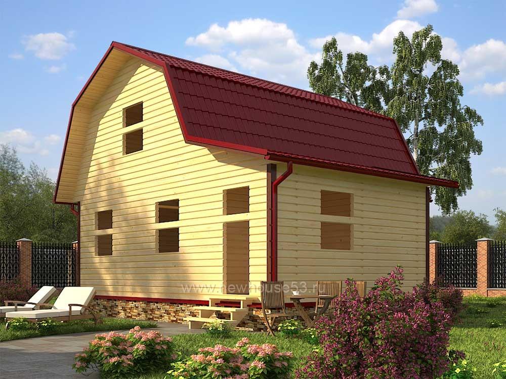 Строительство каркасных домов недорого