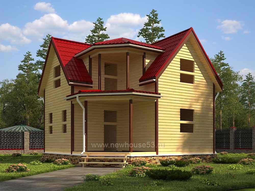 Каркасные дома под ключ недорого проживания цены