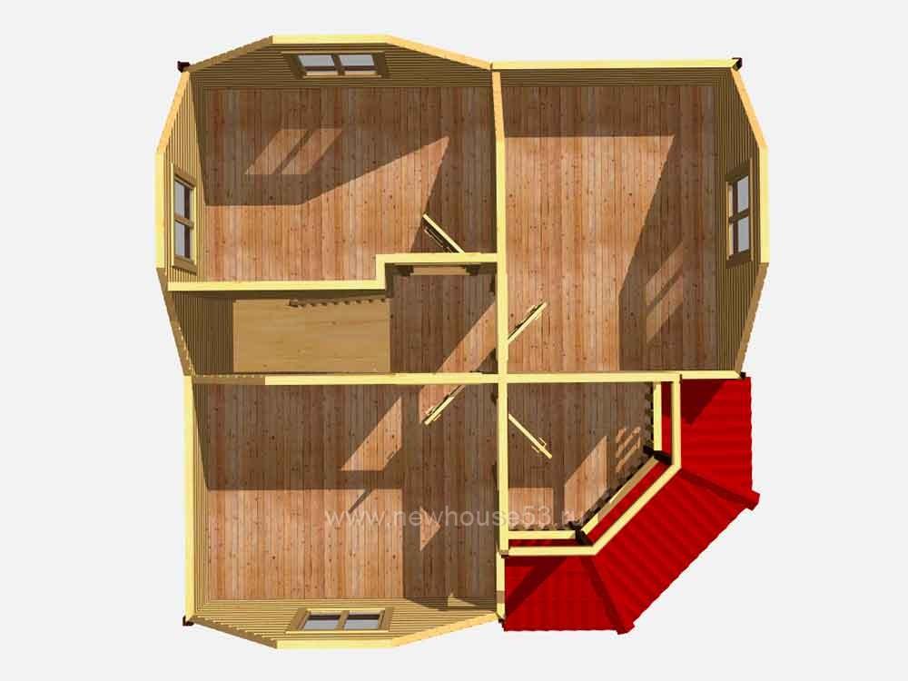 Дачные дома каркасные под ключ недорого цены