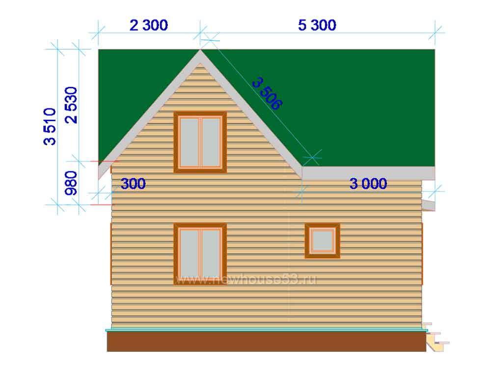Каркасные дома под ключ недорого цены