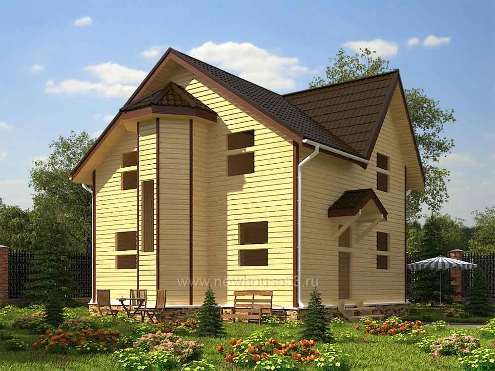 Каркасный дом для постоянного проживания
